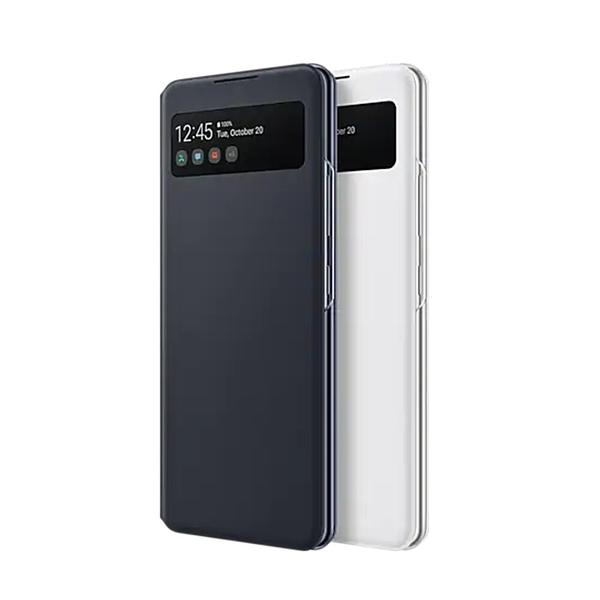 【高飛網通】Samsung A42 5G 原廠透視感應皮套 黑色 台灣公司貨 原廠盒裝