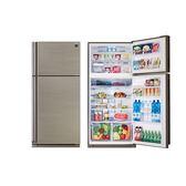 SHARP 541公升 日本原裝 自動除菌離子變頻雙門冰箱 SJ-PD54V-SL