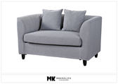 【MK億騰傢俱】BS156-01柯提斯雙人布沙發