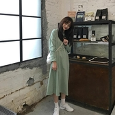 2020年港風ins秋冬款女裝潮小個子初搭配洋氣過膝洋裝子冷淡  「雙10特惠」