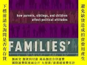 二手書博民逛書店Families 罕見Values: How Parents Siblings And Children Affe