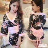 情趣睡衣 性感日本印花和服cosplay睡裙日式和服制服極度誘惑情趣內衣套裝