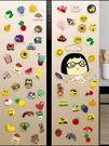冰箱貼 北歐INS裝飾磁貼卡通可愛創意磁性磁鐵冰箱吸鐵石磁力一套【快速出貨】