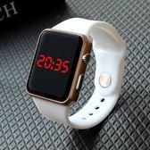 兒童手錶防水初中女手錶韓版學生 LED非智能觸屏女孩電子錶 兒童手錶男孩【快速出貨】
