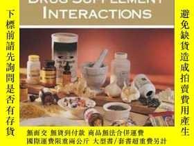 二手書博民逛書店Mosby s罕見Handbook Of Drug-herb And Drug-supplement Intera