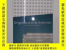 二手書博民逛書店Organizational罕見Behavior, Intern
