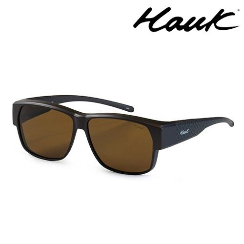 HAWK 新型薄框偏光太陽眼鏡套鏡(2用)HK1024-47