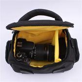 攝影收納包 相機包 單反單肩包D3400D5300D7100D7200D7000D750攝影包便攜 野外之家