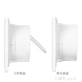 萬途6寸排氣扇圓形廁所抽風機家用衛生間浴室玻璃窗式通風換氣扇YYJ 新年禮物