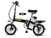 電動自行車折疊式代駕車鋰電小型代步電瓶助力車成人單車女性 全館免運DF