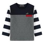 『小鱷魚童裝』拼接T恤(02號~08號)534436
