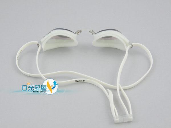 *日光部屋* Nile (公司貨)/ NGL-1109M-WTCK 鍍鏡面/競泳/運動泳鏡