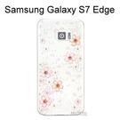 施華洛世奇彩鑽透明軟殼 [櫻花] 三星 Galaxy S7 Edge G935FD