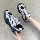 老爹鞋女INS潮鞋子新款秋鞋百搭網紅秋季厚底女鞋跑步運動鞋伊莎公主