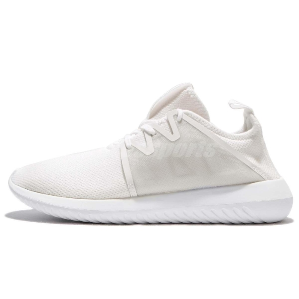 【四折特賣】adidas 休閒鞋 Tubular Viral2 W 白 全白 小白鞋 女鞋 基本款 【PUMP306】 BY9743