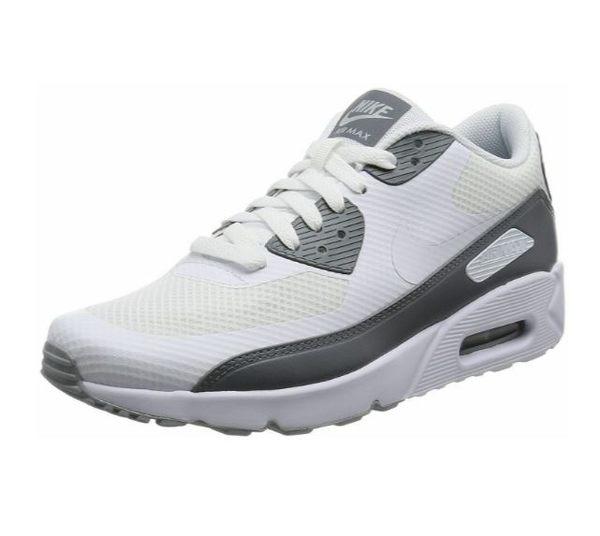 Nike Air Max 90 Ultra 2.0 男款運動慢跑鞋 灰白-NO.875695102