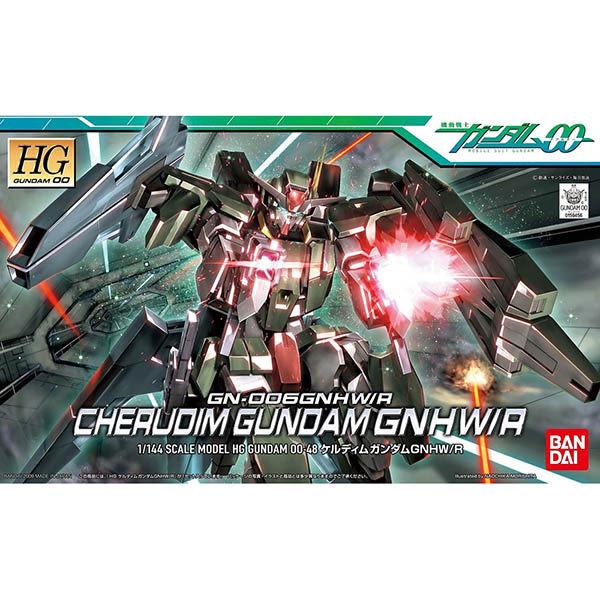 鋼彈00 BANDAI 組裝模型 HG 1/144 GN-006GNHW/R 智天使鋼彈(最終決戰武裝版) 48
