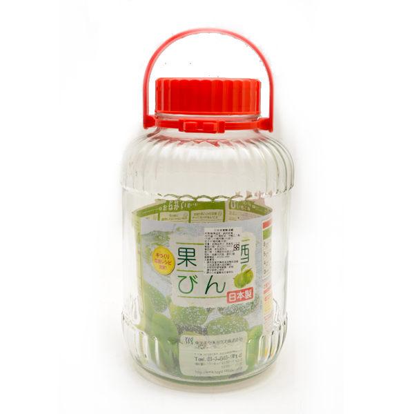 日本製【SASAKI】梅酒/水果酒/玻璃醃漬罐 5L