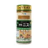 日本 ASAHIPEN 水性 著色清漆 淺橡木 300ml