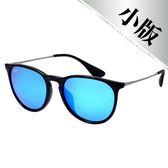 原廠公司貨-【Ray-Ban雷朋太陽眼鏡】4171F-601/55 亞洲加高鼻墊款墨鏡(水銀藍鏡面/黑框)