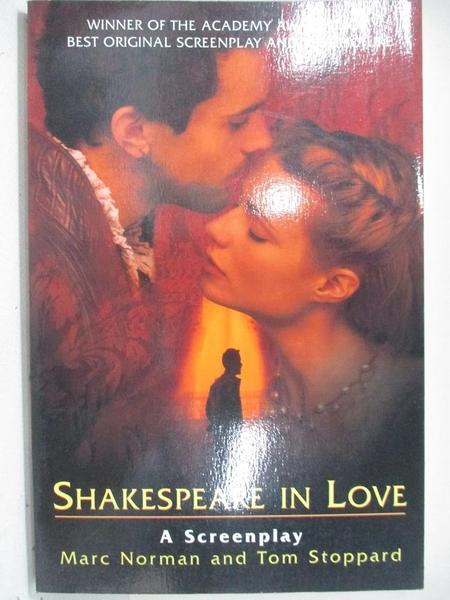 【書寶二手書T9/原文小說_EGR】Shakespeare in Love a Screenplay_原價385