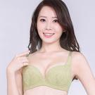 思薇爾-桔梗花戀系列B-F罩蕾絲包覆內衣(草本綠)
