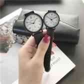 chic手錶女學生韓版簡約潮流ulzzang復古文藝小清新百搭情侶一對 週年慶降價
