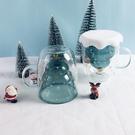 超耐熱隔熱雙層玻璃杯 星星聖誕樹杯 聖誕...