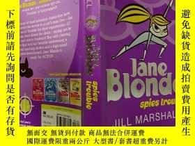 二手書博民逛書店Jane罕見Blonde spies trouble:簡·布朗德窺探麻煩Y200392