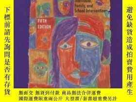 二手書博民逛書店Counseling罕見The Adolescent: Individual Family And School
