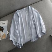現貨 韓國外搭防曬 蕾絲外套 罩衫-多色