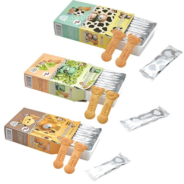 CHOKO 俏菓磨牙餅 寶寶磨牙棒 牛奶 / 蔬菜 / 起司 嬰兒餅乾 副食品 3265