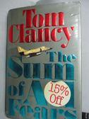 【書寶二手書T5/原文書_WFW】The Sum of All Fears_Clancy, Tom