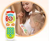 遙控器玩具音樂小孩0-1歲寶寶益智玩具兒童手機電話