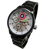 Marvel漫威_復仇者聯盟黑鋼錶 - 美國隊長(白)