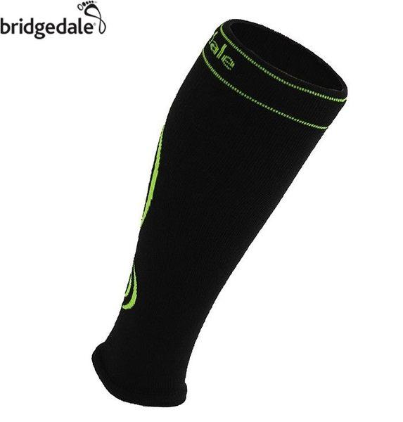 Bridgedale 英國 CC快乾壓力小腿套-C/Max M 黑/螢光黃 535 登山襪子 健行襪 排汗襪 保暖襪 [易遨遊]