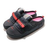 Nike 涼拖鞋 Offline 黑 橘 男鞋 柔珠內底 包頭拖鞋 休閒鞋 N.354 【ACS】 CJ0693-003