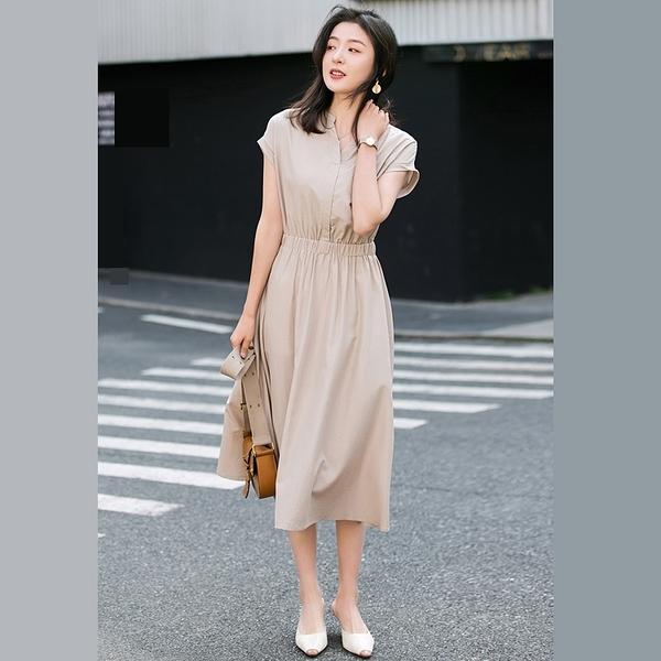 氣質時尚收腰雪紡洋裝連身裙【80-16-8Z2027-20】ibella 艾貝拉