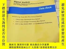 二手書博民逛書店Signal罕見switch including Digital Analog Bilateral Switche