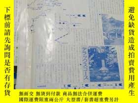 二手書博民逛書店日文原版罕見地區圖Y223356