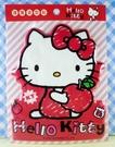 【震撼精品百貨】Hello Kitty 凱蒂貓~KITTY立體海綿貼紙-紅蘋果