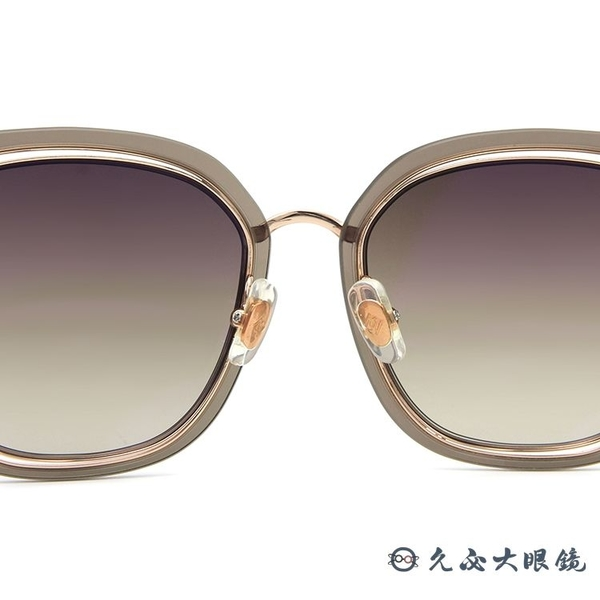 HELEN KELLER 林志玲代言 H8819 N17 (透棕-玫瑰金) 太陽眼鏡 久必大眼鏡