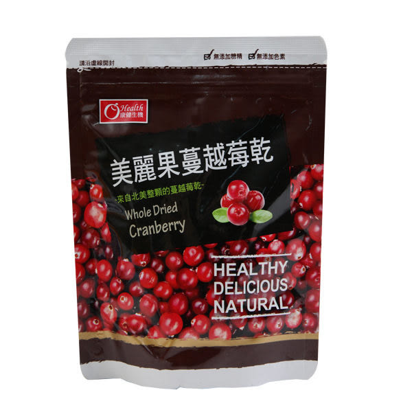 康健生機~美麗果蔓越莓乾135g