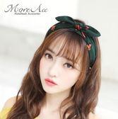 蝴蝶結髮箍兔耳朵髮卡韓國簡約寬邊壓髮帶頭箍髮飾女日韓甜美頭飾三角衣櫥
