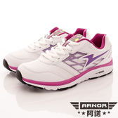 【ARNOR】超Q彈避震跑鞋 FLEX-WR72137-白葡萄紫-女段-0