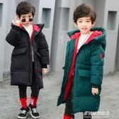 兒童棉衣外套男童棉衣新款冬裝中長款兒童棉襖外套寶寶加絨加厚保暖棉服潮多莉絲旗艦店