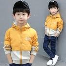 兒童外套 兒童裝男童外套秋冬裝2021新款韓版帥氣中大童薄款春秋上衣沖鋒衣 歐歐