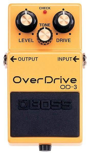 【金聲樂器廣場】全新  BOSS OD-3 OverDrive 破音效果器