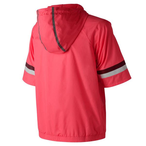 【New Balance】 短袖上衣 AWT81532GUA 女 桃紅