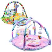 可愛動物鋼琴健身器 健身樂園 感官訓練 嬰兒腳踏鋼琴健身架 遊戲墊 地墊 健力架 0611 好娃娃